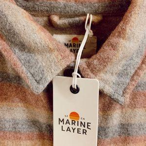 Marine Layer Flannel Brand New